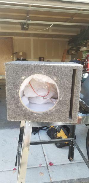 Ten inch subwoofer box for Sale in Littleton, CO