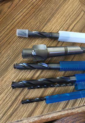 Solid carbide drill bits for Sale in Washington, IL