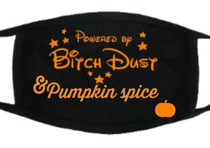 Powered by Bitchdust Pumpkin spice face mask for Sale in York, PA