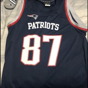 New England Patriots Rob Gronkowski Basketball Style Jersey for Sale in Gilbert, AZ
