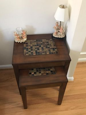 End table set of 2 , coffee table for Sale in Vienna, VA