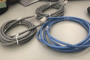Cable / Cat6 / Cat6e all types/lengths available home WiFi router cable (any kind of cable you need) for Sale in Lansdowne, VA