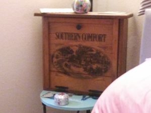 Cabinet.southern comfort.antique for Sale in Tucson, AZ