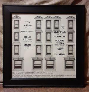 Vintage 1975 Led Zeppelin Physical Graffiti Vinyl LP Album Framed Sleeve Cover (Sides 3 & 4) for Sale in Fox Lake, IL