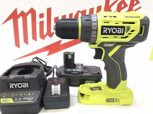 RYOBI 18-Volt ONE+ Lithium-Ion Cordless Brushless 1/2 in. Drill/Driver Kit with 1.3AH Battery, Charger and Bag for Sale in Bakersfield, CA