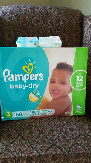 Pampers size 3 for Sale in Dallas, TX