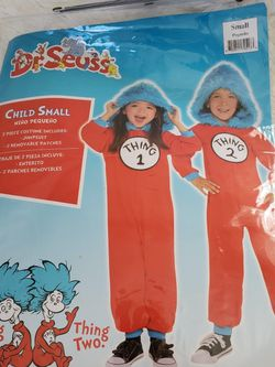 Dr Seuss Thing 1 Or 2 Child Small Costume for Sale in Salisbury,  MD