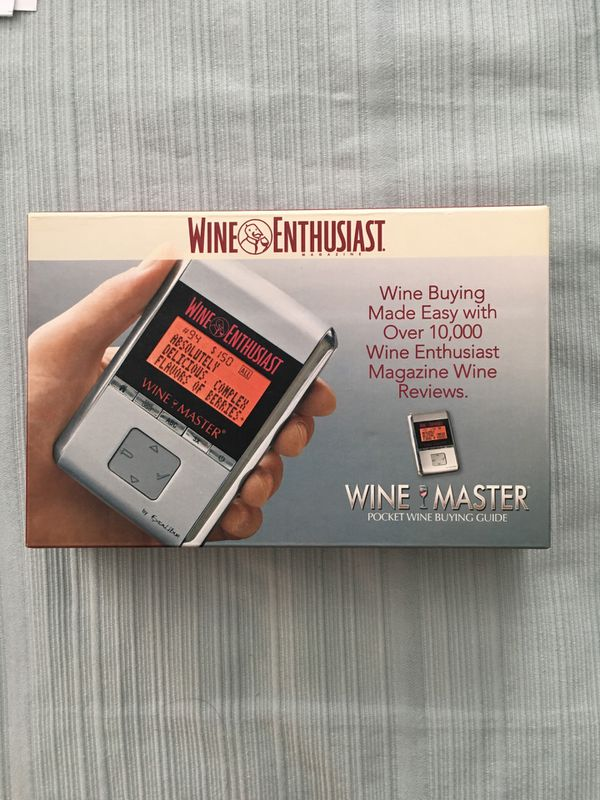 Wine Master pocket wine buying guide