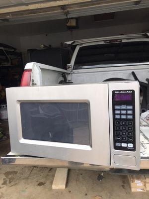 Kitchen aid Microwave for Sale in Rowlett, TX