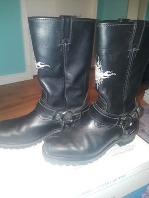 Good motorcycle boots. Harley-Davidson size 9 for Sale in Lakewood, CO