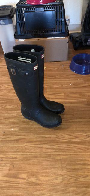 Hunter rain boots for Sale in Denver, CO