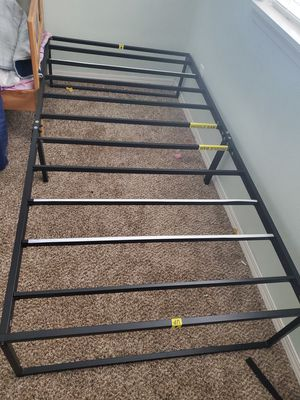 twin size metal bed frame for Sale in Hillsboro, OR