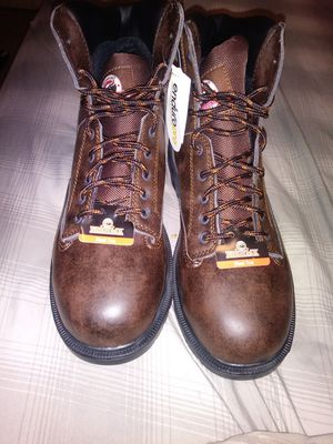 New clean leather Brahma work boots for Sale in Tampa, FL