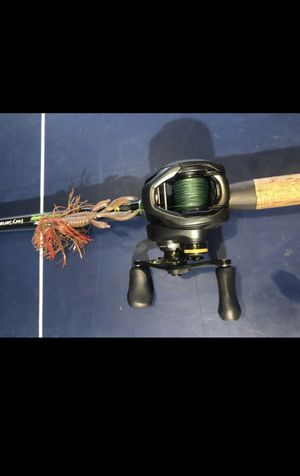 Shimano Curado with Dobyns fishing rod for Sale in Hughson, CA