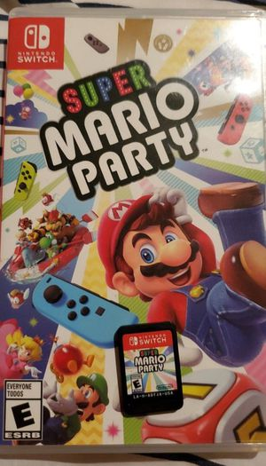 Super Mario Party Nintendo Switch with box for Sale in Sunnyvale, CA