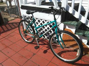 Mongoose adult mountain bike with back rack for Sale in East Brunswick, NJ