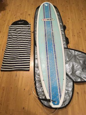 "NSP surfboard 8'2"" w/ leash, towel socks, bag for Sale in Fort Lee, NJ"