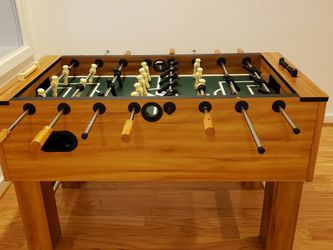 """54 """" Wood Foosball Table From sprotscraft for Sale in Bethesda,  MD"""