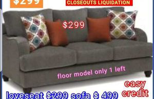 CLOSEOUTS LIQUIDATIONS ITEM LOVESEAT BRAND NEW BY USA MEXICO FURNITURE XF for Sale in Pomona, CA