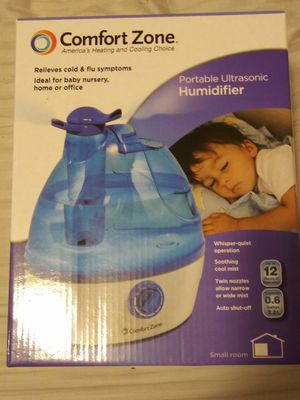 Comfortzone ultra sonic humidifier for Sale in Dade City, FL