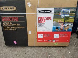 Poolside Basketball Portable Hoop for Sale in Niederwald, TX