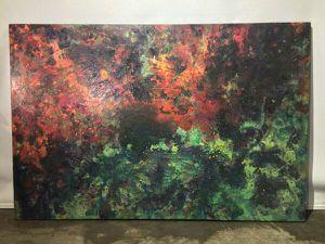Huge Canvas,Galaxy MXYTSPLYK Acrylic Paint on canvas for Sale in Miami Beach, FL