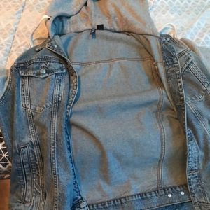 Hoodie Jean Jacket for Sale in Lithonia, GA