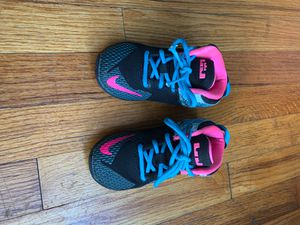 Lebron James Nike's children shoes size 8c for Sale in Woodlawn, MD