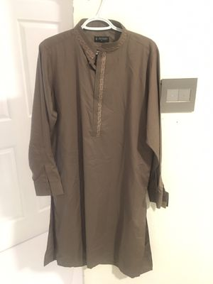 Brand new Arshad S shalwar kameez traditional Pakistani men cloth - never worn shirt and pant - tags still on for Sale in Pembroke Pines, FL