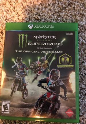 Monster energy supercross for Sale in Tualatin, OR