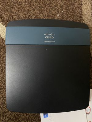 Linksys N600+ Wi-Fi Wireless Dual-Band+ Router with Gigabit Ports, Smart Wi-Fi App Enabled to Control Your Network from Anywhere (EA2700) for Sale in Bellevue, WA