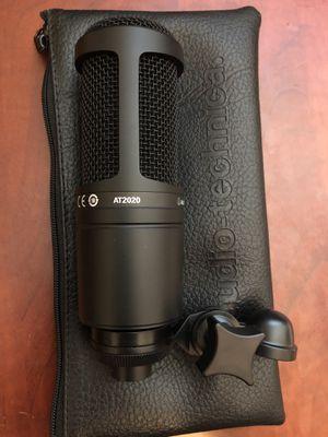 Audio Technica AT2020 Condenser Microphone for Sale in Mesa, AZ