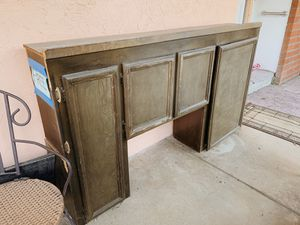 FREE SOLID WOOD CABINET for Sale in San Jose, CA