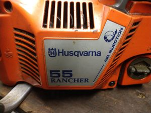 Husqvarna 55 rancher chainsaw for Sale in Overbrook, WV