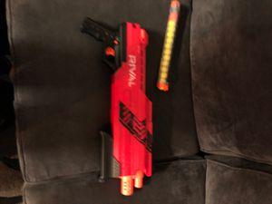 Nerf gun rival for Sale in Lake Elsinore, CA