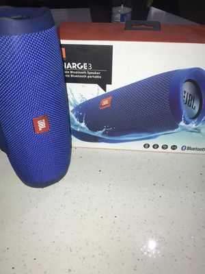 Jbl charge 3 for Sale in Santa Ana, CA