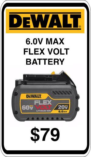 BRAND NEW - DeWalt 6.0 Flexvolt 60v 20v Battery - We accept trades & Credit Cards - AzBE Deals for Sale in Sun City, AZ