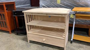 """BRAND NEW International Concepts Mission Corner SOLID WOOD TV Stand for TVs up to 40"""", Unfinished for Sale in Columbus, OH"""