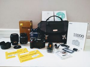 Nikon D3200 DSLR Camera Bundle for Sale in Canton, GA