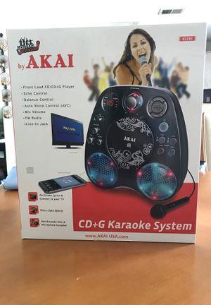 Akai CD+G karaoke system for Sale for sale  Staten Island, NY