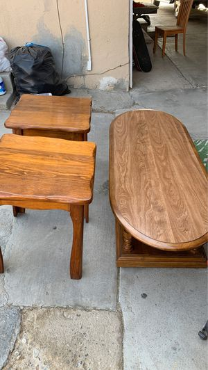 Coffee and end tables for Sale in Bakersfield, CA