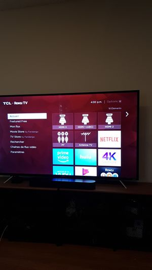 """TCL 65"""" Class - LED - 4 series - 2160p - 4K UHD TV with HDR - Roku TV for Sale in Marina del Rey, CA"""