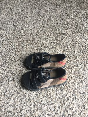 Burberry shoe Size 21 for Sale in Orlando, FL
