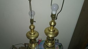 Gold lamps for Sale in Odenton, MD