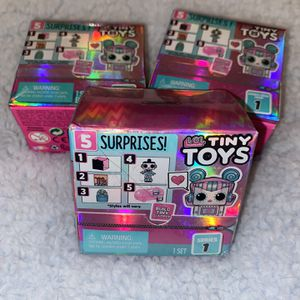 LOL Tiny Surpise Toys for Sale in Riverview, FL