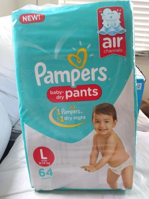 Pampers pant style diapers - 64 count for Sale in Seattle, WA