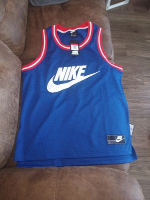Nike blue jersey Large for Sale in San Pablo, CA