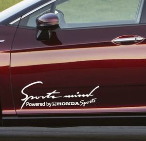 2 pieces Sport Mind Powered By Honda Sports Vinyl Decal Sticker for Sale in Alexandria, VA