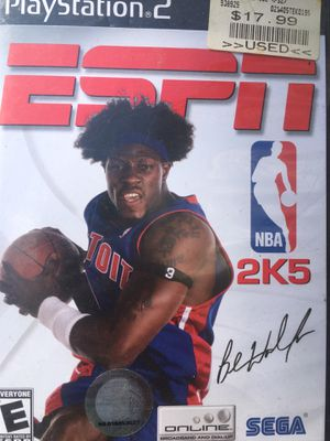 ESPN 2k5 ps2 for Sale in Woodbridge, VA