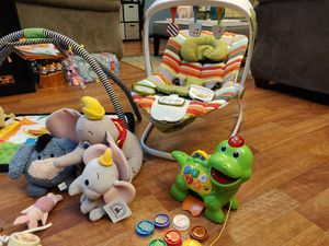 Bouncer, Play Mat, Mobile, Plushies for Sale in Snohomish, WA